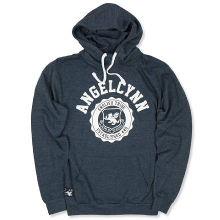Senlak Angelcynn Hood - Heather Navy